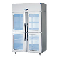 冷蔵庫ガラスタイプ